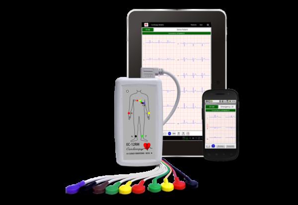 EC-12RM и Cardiospy® Мобильная версия