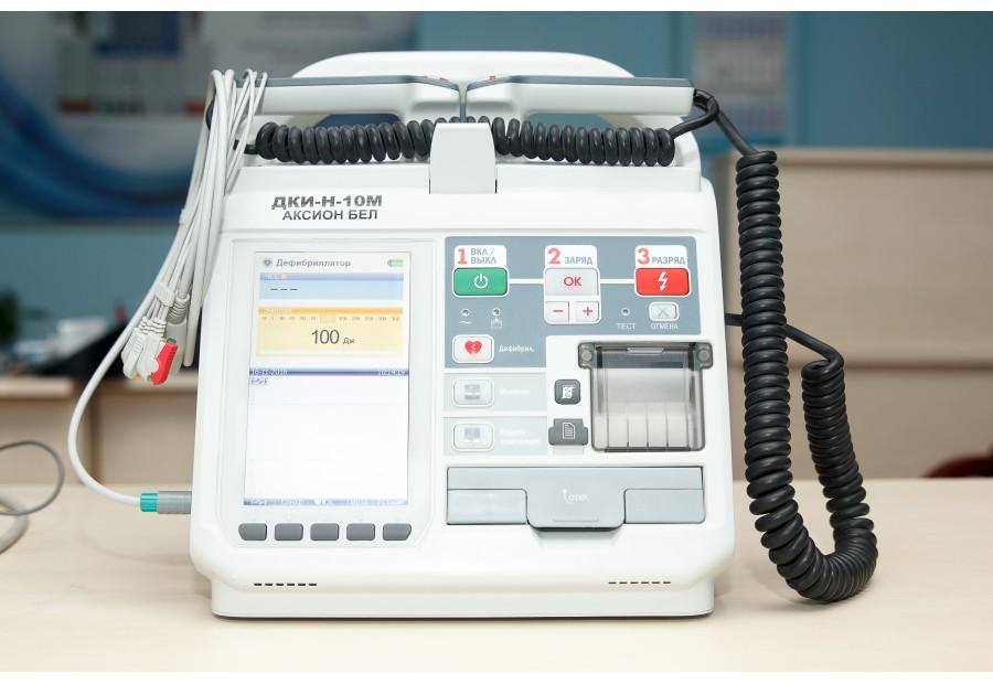 Дефибриллятор-монитор ДКИ-Н-10 М «АКСИОН-БЕЛ»
